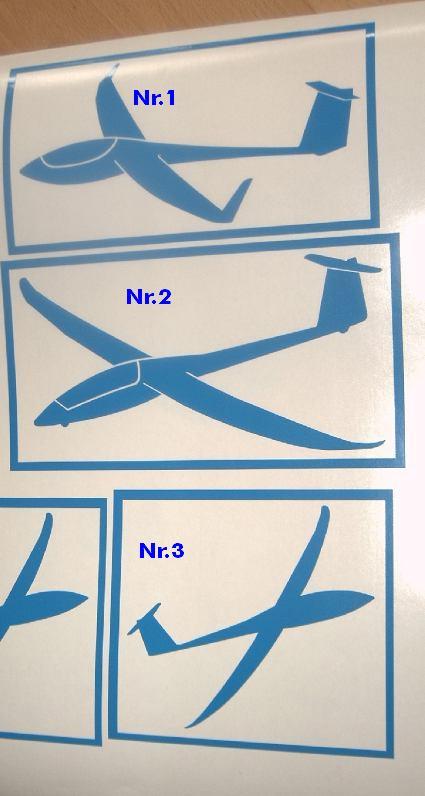 Flugzeugfolien